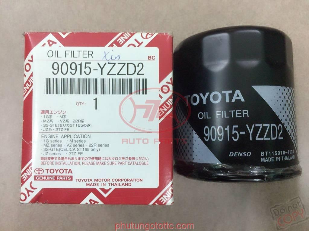 Lọc dầu Camry-Innova-Fortuner-Zace